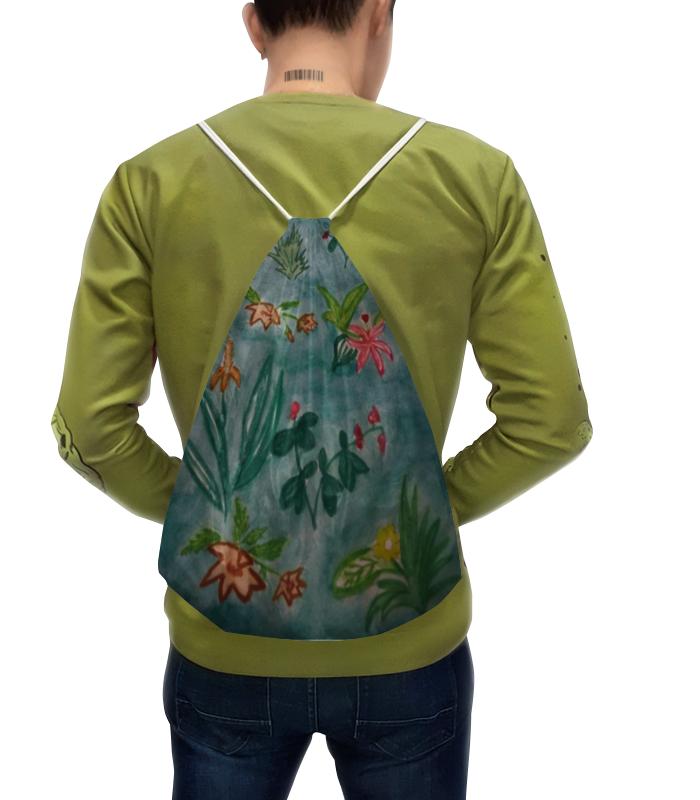 Рюкзак-мешок с полной запечаткой Printio Ботаника андреева и ботаника