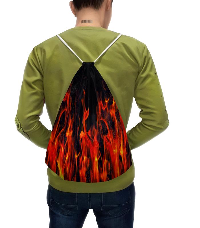 Рюкзак-мешок с полной запечаткой Printio Пламя платье летнее printio пламя