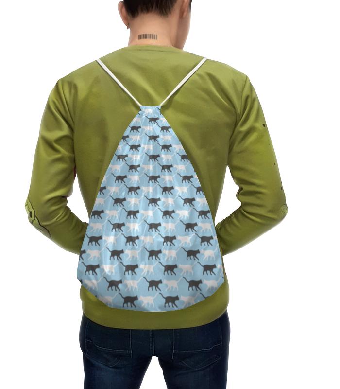 Рюкзак-мешок с полной запечаткой Printio Котики ideal lux настольная лампа ideal lux kinder tl1 d18