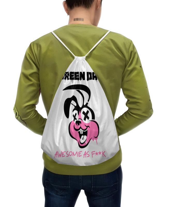 купить Рюкзак-мешок с полной запечаткой Printio Green day