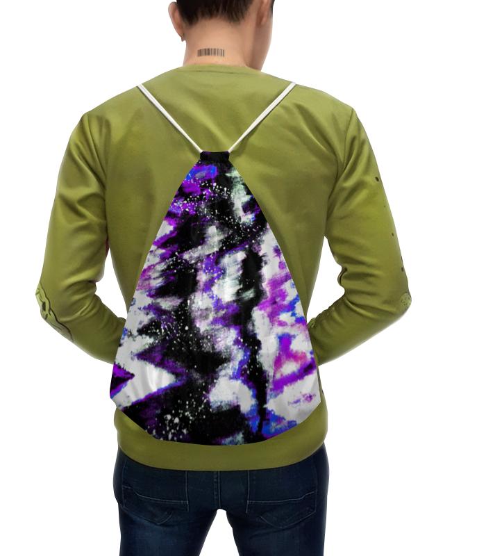 Фото - Рюкзак-мешок с полной запечаткой Printio Буря красок толстовка с полной запечаткой printio буря красок