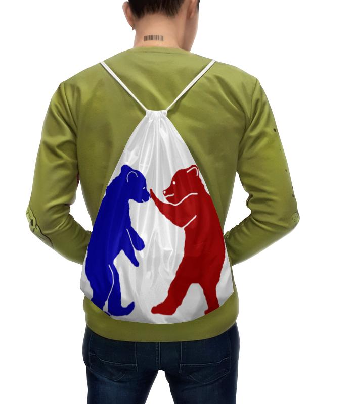 Рюкзак с полной запечаткой Printio Мишутки рюкзак с полной запечаткой printio рюкзак ассирийский флаг