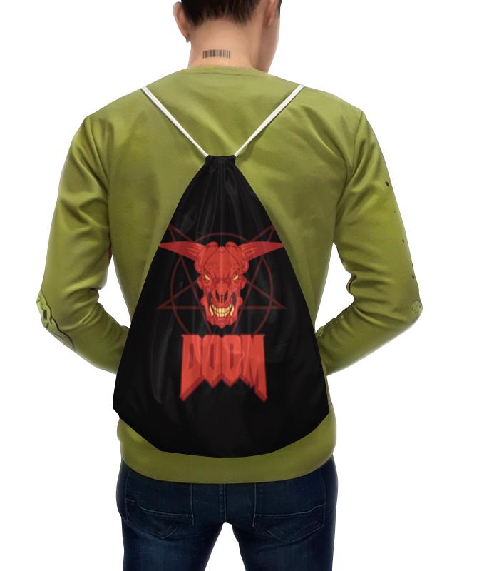 где купить Рюкзак с полной запечаткой Printio Doom (игра) дешево