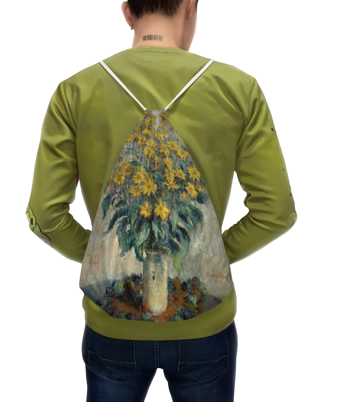 Рюкзак с полной запечаткой Printio Топинамбур (клод моне) футболка с полной запечаткой printio топинамбур клод моне