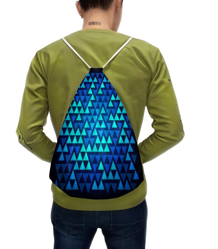 Рюкзак-мешок с полной запечаткой Printio Треугольники рюкзак с полной запечаткой printio абстракция треугольники