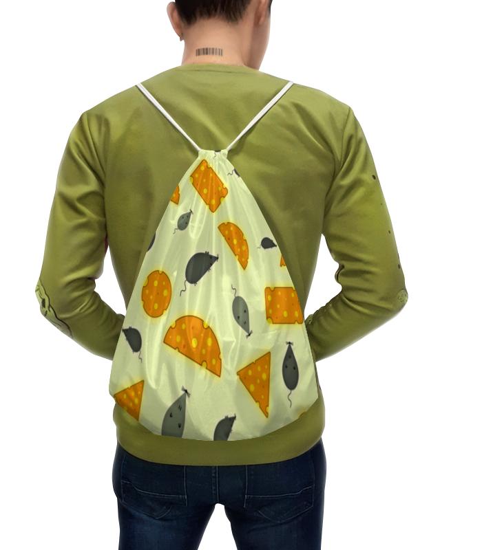 Рюкзак с полной запечаткой Printio Мышь и сыр футболка с полной запечаткой для девочек printio мышь и сыр