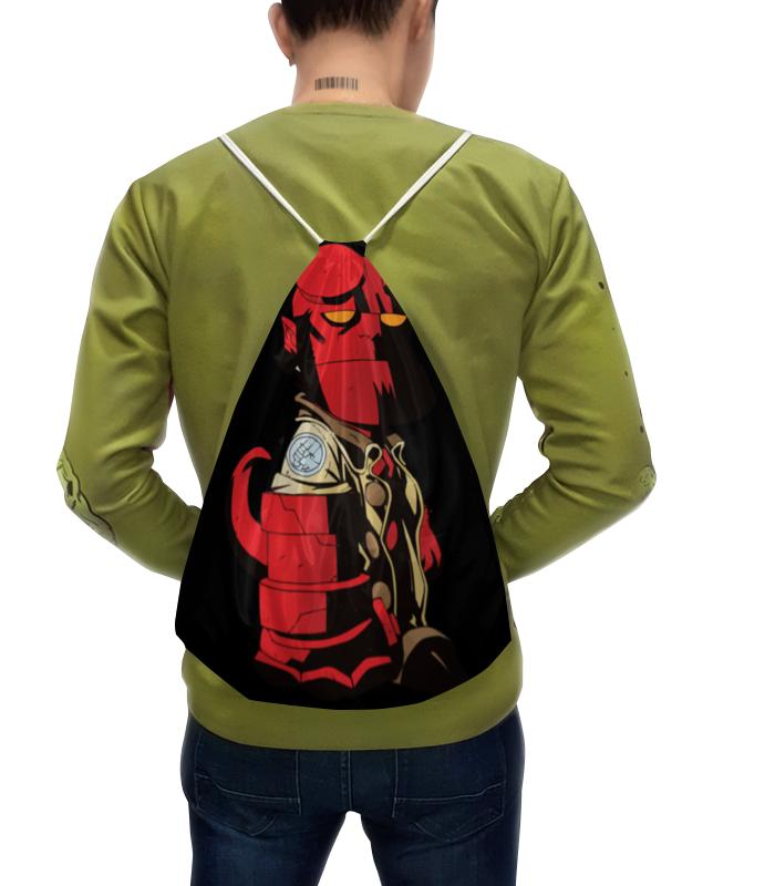 Рюкзак с полной запечаткой Printio Hellboy / хэлбой