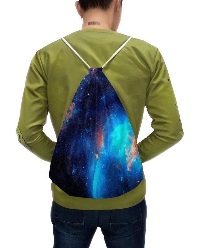 Рюкзак-мешок с полной запечаткой Printio Космос рюкзак с полной запечаткой printio рюкзак космос