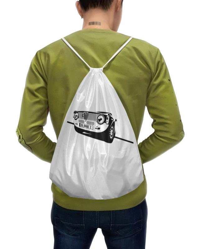 Рюкзак-мешок с полной запечаткой Printio Retro alfa romeo racing блокнот на пружине а4 printio retro alfa romeo racing