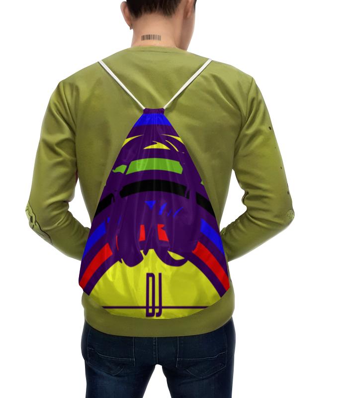 Рюкзак с полной запечаткой Printio Dj !!! рюкзак divalli divalli mp002xw0f8tc
