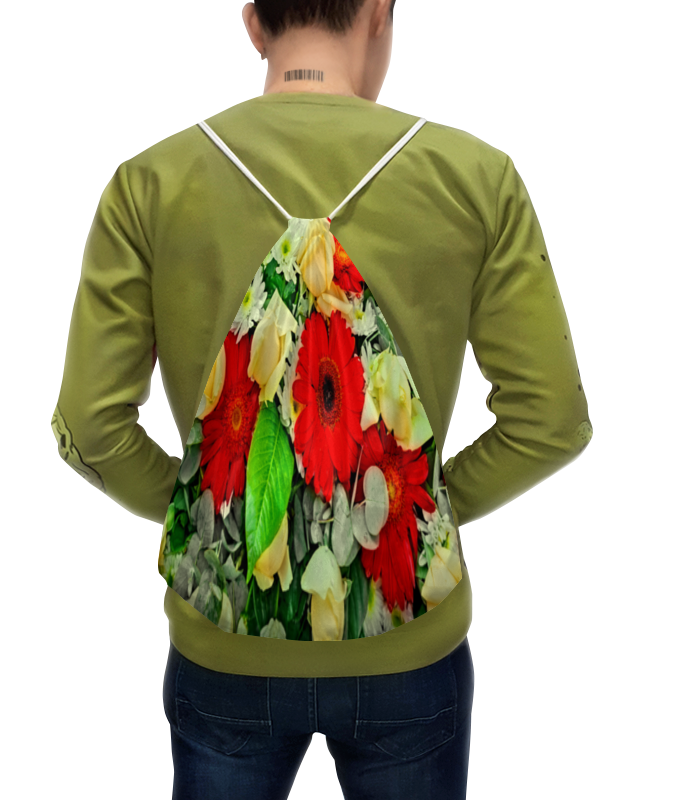 Рюкзак с полной запечаткой Printio Букет цветов букет из цветов жасмина