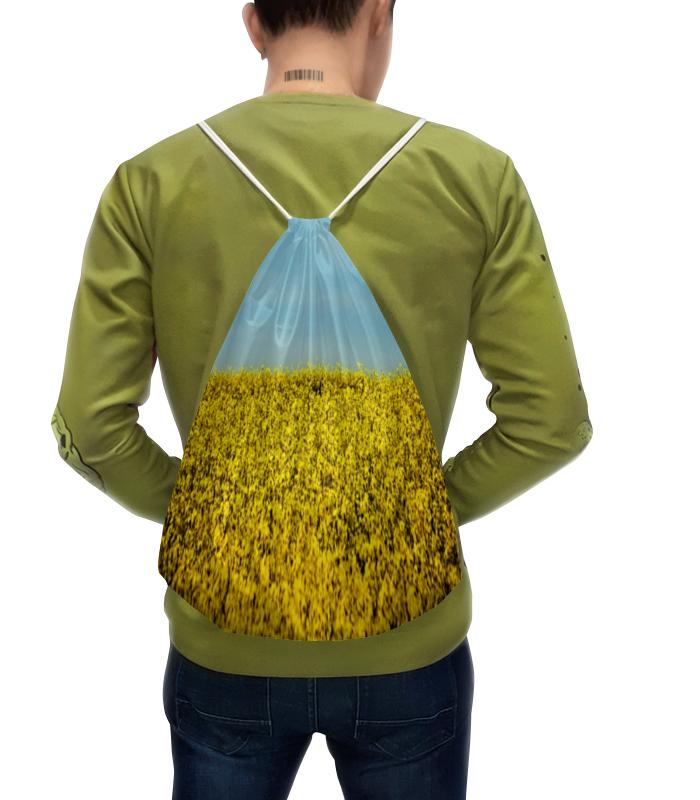 Рюкзак с полной запечаткой Printio Цветущее поле