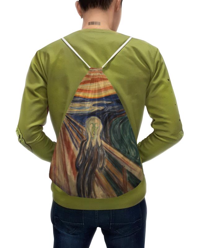 Рюкзак с полной запечаткой Printio Крик (картина мунка) тетрадь на скрепке printio крик картина мунка