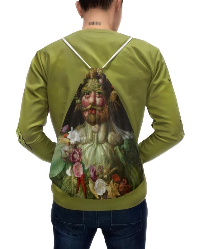Рюкзак с полной запечаткой Printio Рудольф ii в образе вертумна (картина арчимбольдо) v 380 ii
