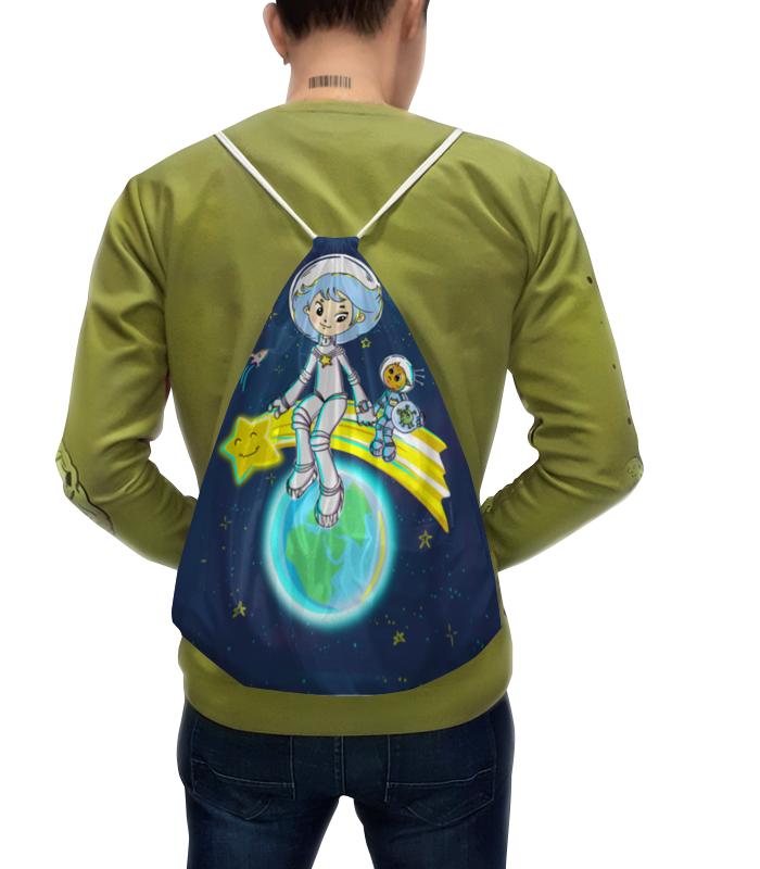Рюкзак с полной запечаткой Printio Девочка с земли рюкзак с полной запечаткой printio девочка с земли