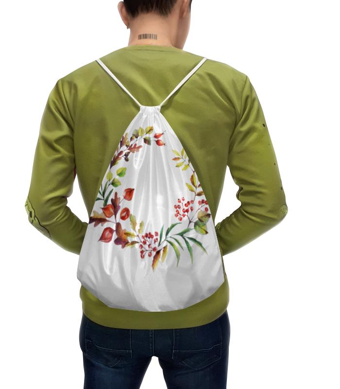 Рюкзак-мешок с полной запечаткой Printio Венок осенний чехол для iphone 5 глянцевый с полной запечаткой printio осенний день сокольники левитан