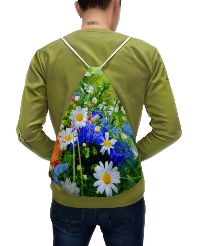 Рюкзак с полной запечаткой Printio Цветы