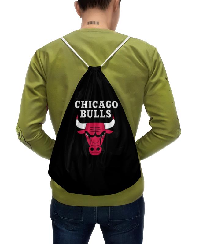 Рюкзак с полной запечаткой Printio Чикаго буллз свитшот унисекс хлопковый printio чикаго буллз