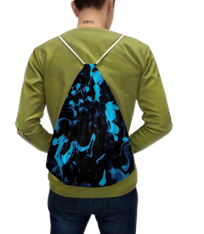 Printio Голубые брызги рюкзак с полной запечаткой printio голубые брызги