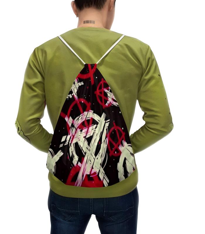 Рюкзак-мешок с полной запечаткой Printio Анархия бижутерия ювелина