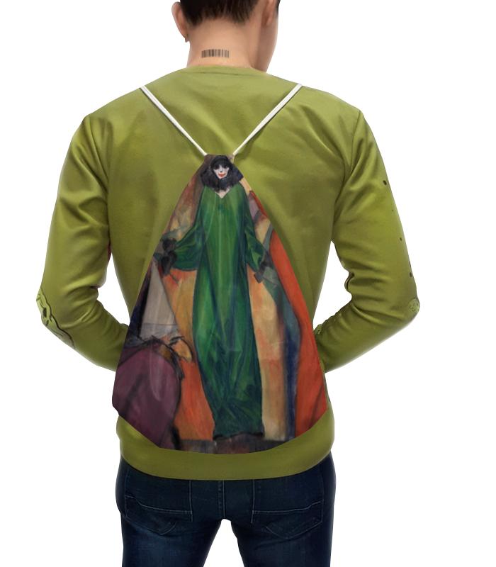 Рюкзак с полной запечаткой Printio Зеленое домино (альберт блох)