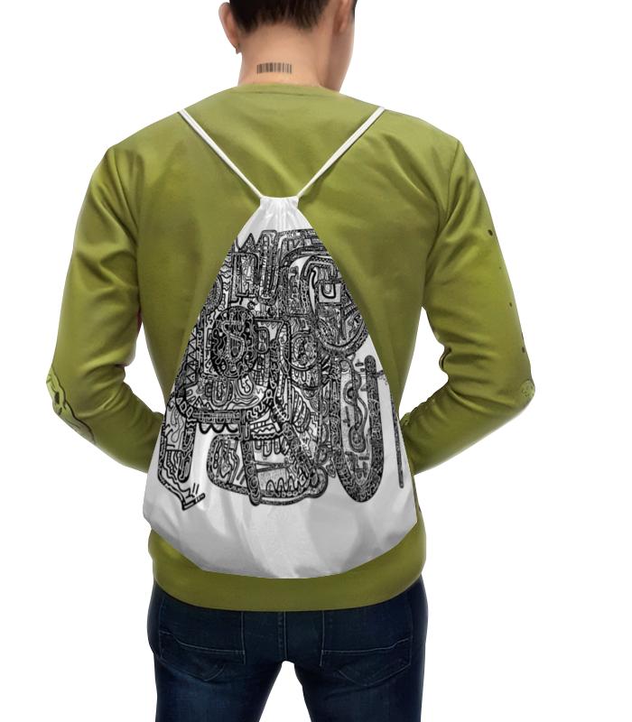 Рюкзак-мешок с полной запечаткой Printio Петрушкин лабиринт цена