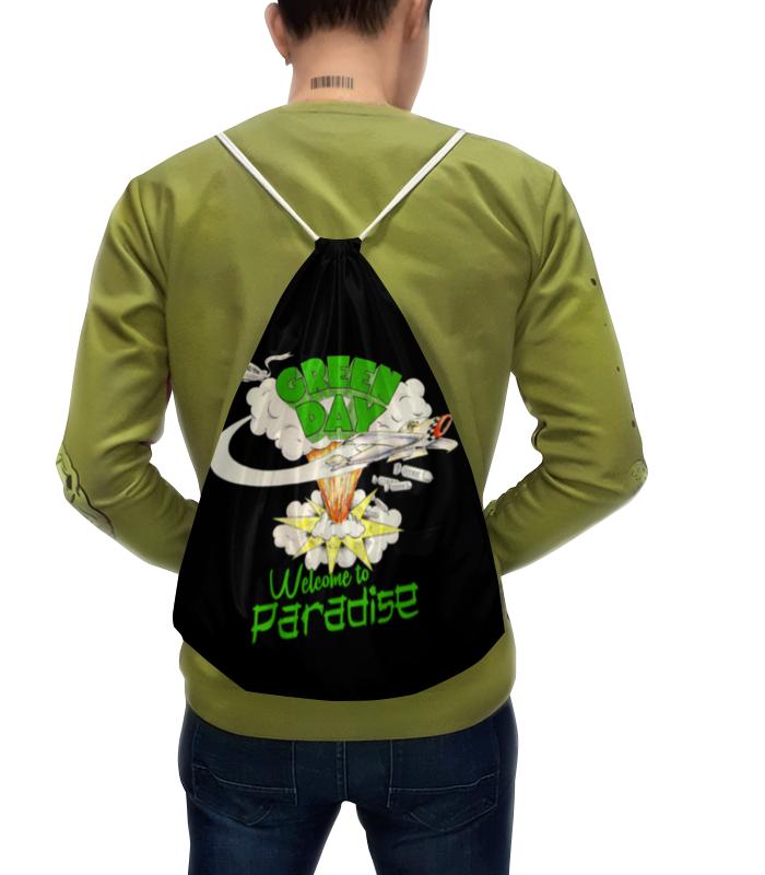 Фото - Рюкзак с полной запечаткой Printio Green day рюкзак code code co073bwbyzk6