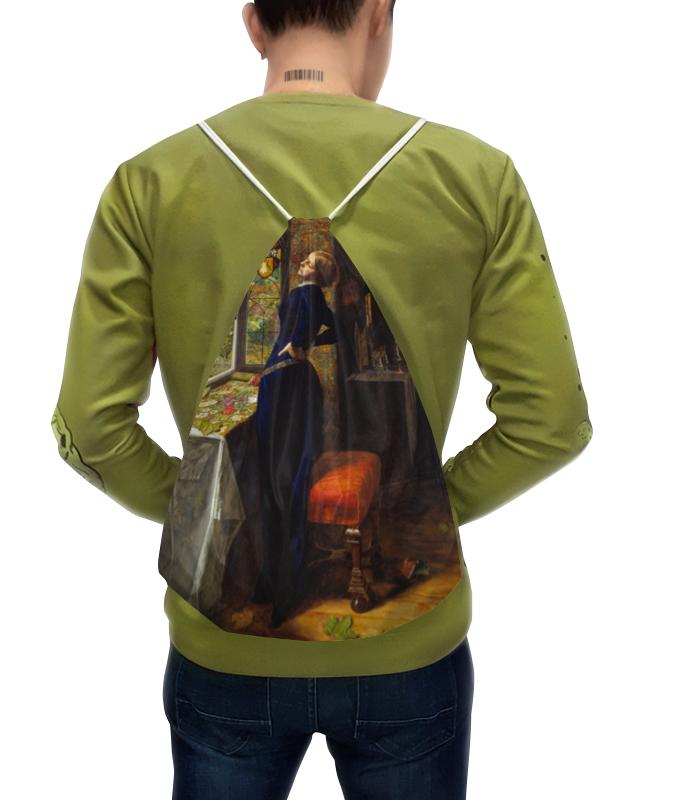 Рюкзак с полной запечаткой Printio Мариана (джон милле) чехол для iphone 4 глянцевый с полной запечаткой printio офелия картина джона эверетта милле