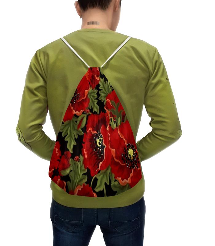 Рюкзак с полной запечаткой Printio Полевые маки юбка карандаш printio полевые маки