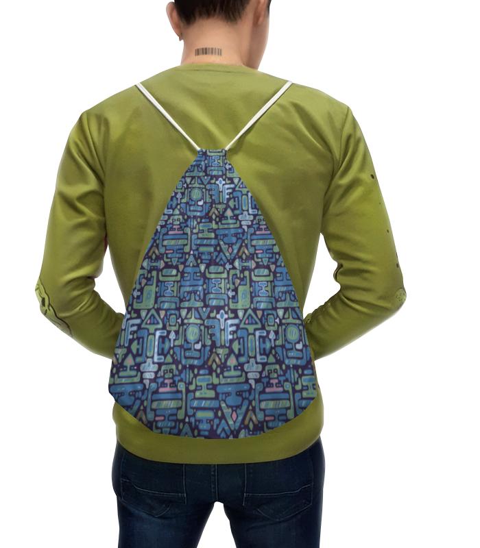 Рюкзак с полной запечаткой Printio Символы рюкзак с полной запечаткой printio бультерьер