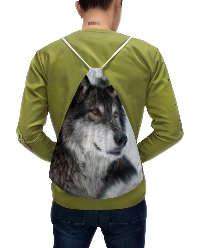 Рюкзак с полной запечаткой Printio Серый волк футболка с полной запечаткой мужская printio красная шапочка и серый волк 3