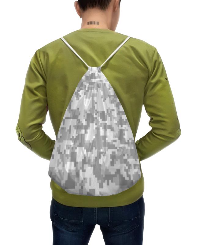 Фото - Рюкзак с полной запечаткой Printio Камуфляж пиксели (белый) рюкзак code code co073bwbyzk6