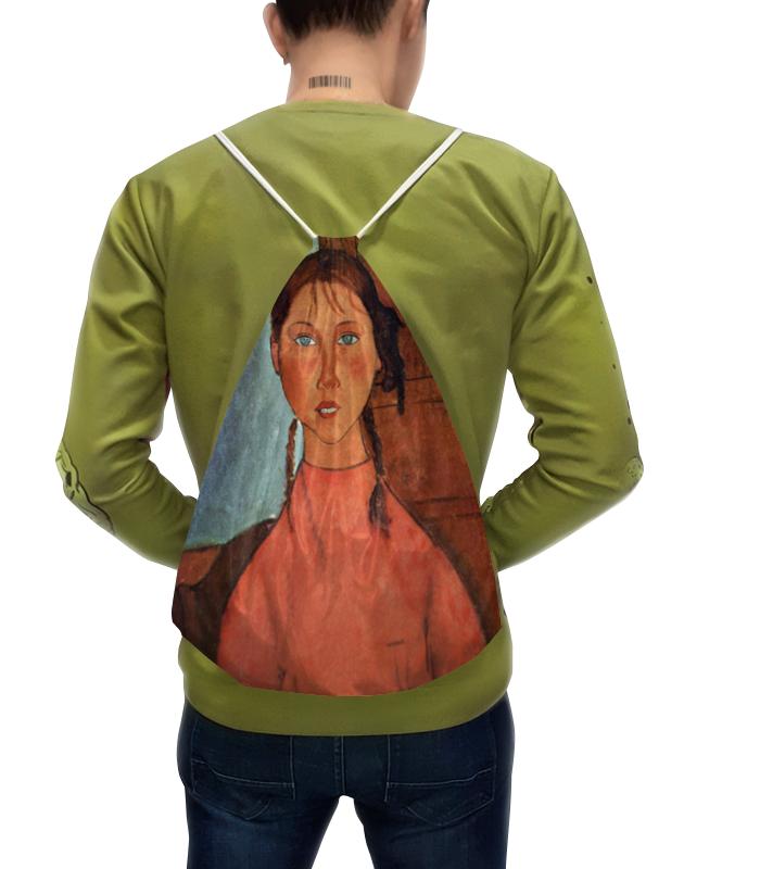 Рюкзак с полной запечаткой Printio Девочка с косичками (амедео модильяни) рюкзак с полной запечаткой printio девочка с земли