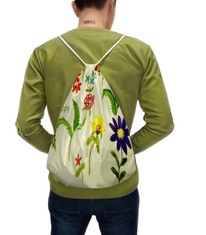 Рюкзак с полной запечаткой Printio Цветы тропиков рюкзак с полной запечаткой printio цветы тропиков