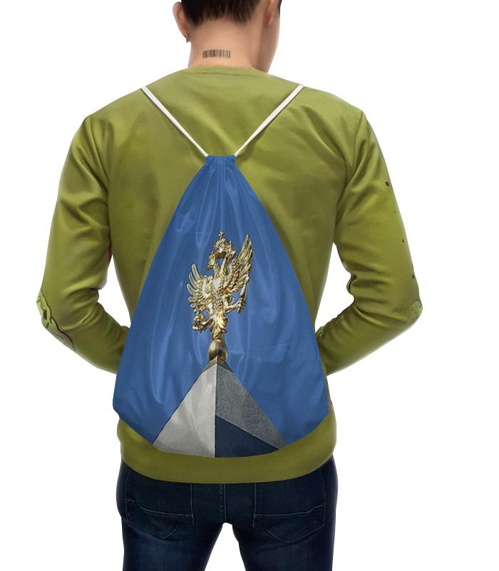 Рюкзак-мешок с полной запечаткой Printio Двуглавый орел.