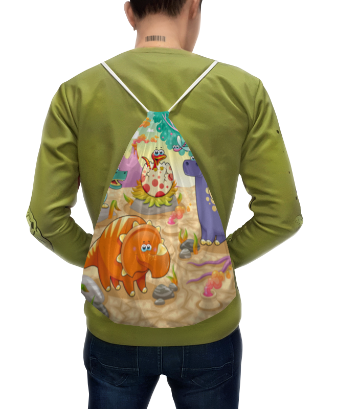 Рюкзак с полной запечаткой Printio Забавные динозаврики сладкая сказка печенье дед мороз и снегурочка 400 г