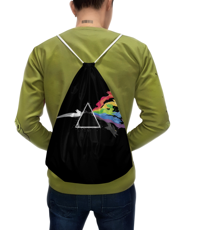 Фото - Рюкзак с полной запечаткой Printio Pokemon eevee / покемон иви футболка с полной запечаткой мужская printio pokemon eevee покемон иивии