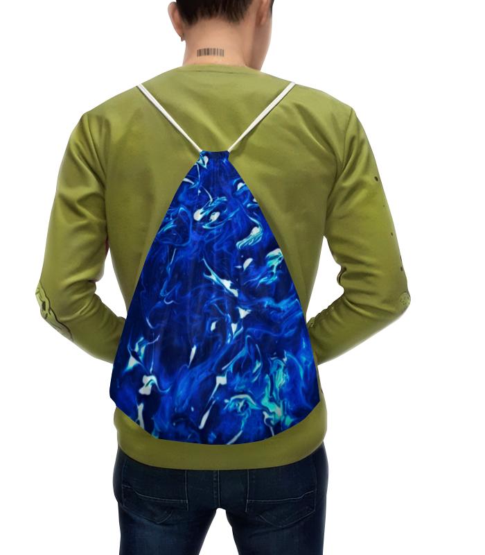 Рюкзак с полной запечаткой Printio Блики на воде цена
