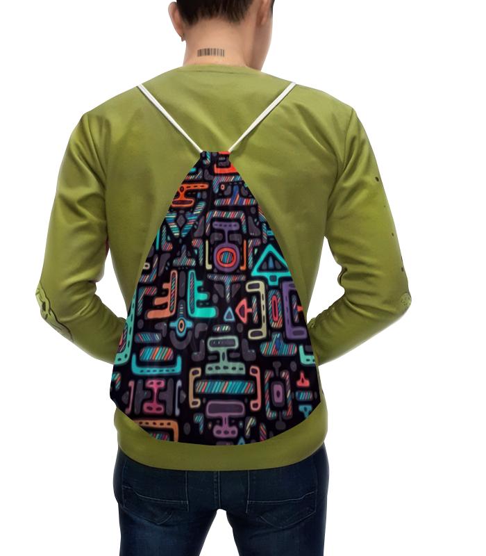 Рюкзак с полной запечаткой Printio Символы матин и янтры защитные символы востока