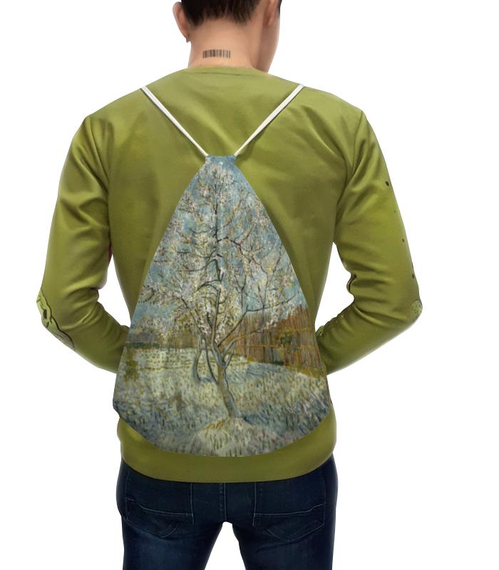 Рюкзак с полной запечаткой Printio Персиковое дерево в цвету (ван гог) фартук с полной запечаткой printio персиковое дерево в цвету ван гог