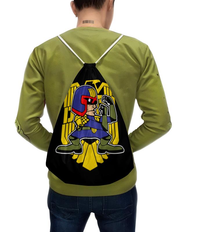 Рюкзак-мешок с полной запечаткой Printio Судья дредд (judge dredd) цена
