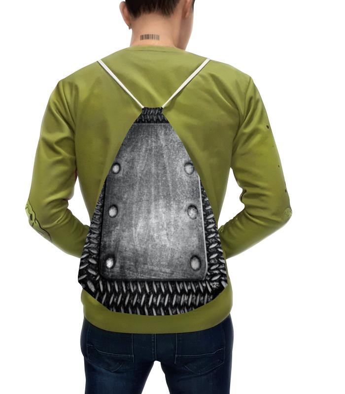 цена Рюкзак-мешок с полной запечаткой Printio Броник