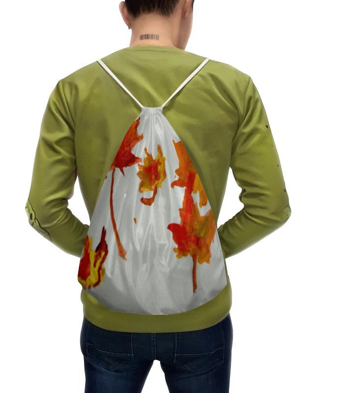 Рюкзак с полной запечаткой Printio Осенние листья бусы из янтаря осенние краски