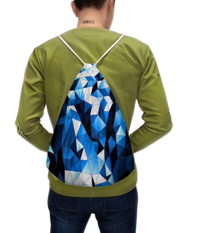 Рюкзак с полной запечаткой Printio Синие стекла звезды красно бело синие с пудовъ