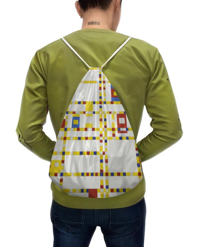Рюкзак с полной запечаткой Printio Бродвей буги-вуги (питер мондриан) борцовка с полной запечаткой printio композиция питер мондриан