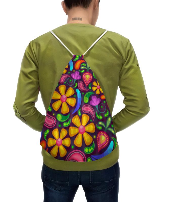 Рюкзак с полной запечаткой Printio Цветочное настроение