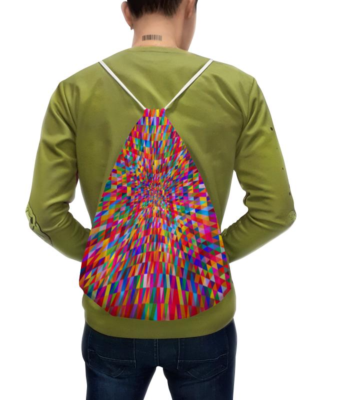 Рюкзак с полной запечаткой Printio Абстракция треугольники рюкзак с полной запечаткой printio бультерьер