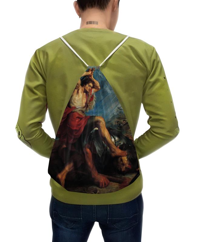 Рюкзак с полной запечаткой Printio Давид отрубает голову голиафу (картина рубенса) вечер джазовой скрипки давид голощекин и его ансамбль юлия касьян – вокал