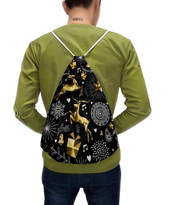 Рюкзак с полной запечаткой Printio Олени рюкзак с полной запечаткой printio лис под звёздами