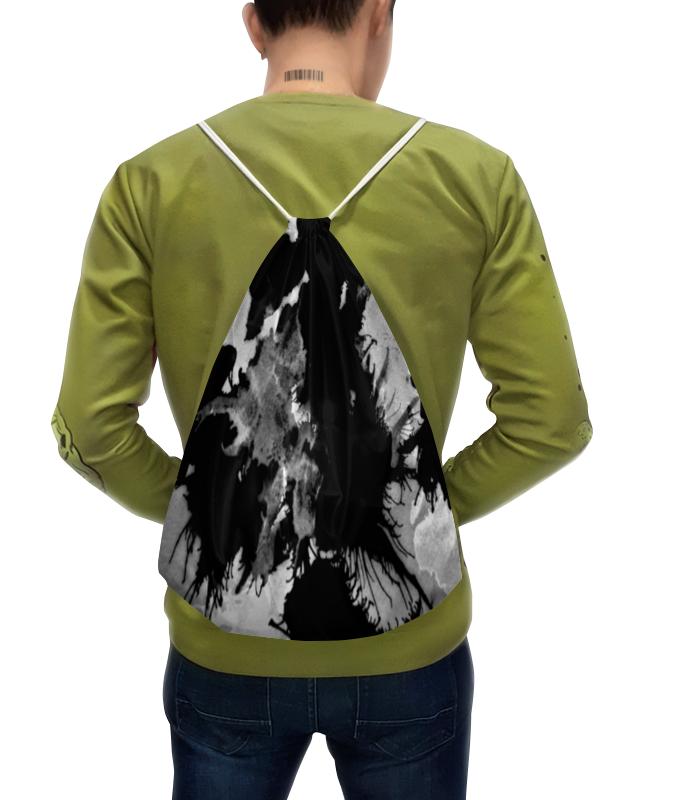 Рюкзак с полной запечаткой Printio Черно-белые пятна хлопок эпохи purcotton детей марля одеяло детское постельное белье 135x120cm 1 цзянь дерево зеленый фон белые пятна